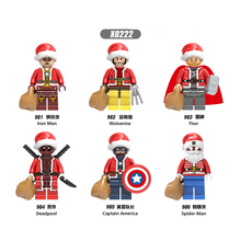 X0222 Model Building Blocks Super Heroes Black Widow Doctor Strange Proxima Midnigh Figures Bricks Dolls Toys for Children Gifts