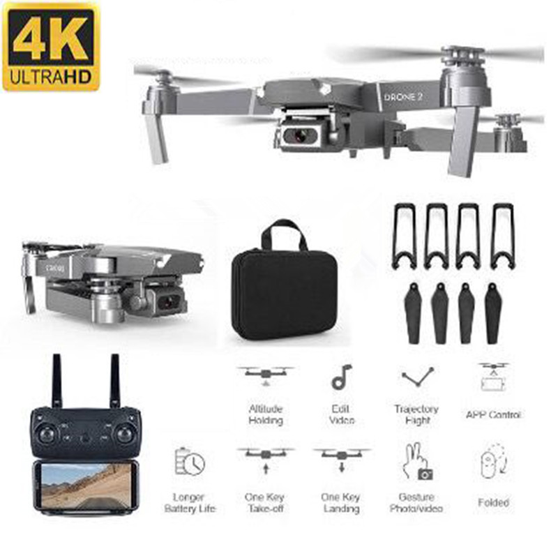 Profession 4K WIFI FPV Mini Drone With Wide Angle HD Camera Hight Hold Mode RC Quadcopter Helicopter Kid Toy