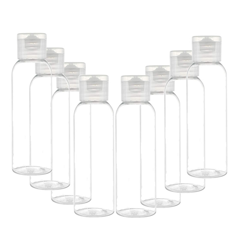 5PCS Portable Flip Lotion Bottle 10ML 30ML 50ML 60ML 100ML Travel Small Bottle Shampoo Cosmetic Lotion Container Plastic Bottle
