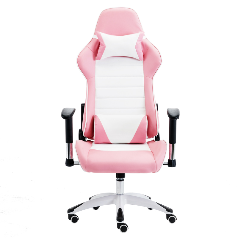 E-sports Chair Comfortable Sedentary Computer Chair Home Office Game Chair Girl Heart Live Lift Girl Turn Chair