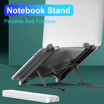 Laptop Stand For Macbook Pro 13 Air Portable Foldable Stand Holder For Notebook Tablet Desk Bracket Riser laptop accessories