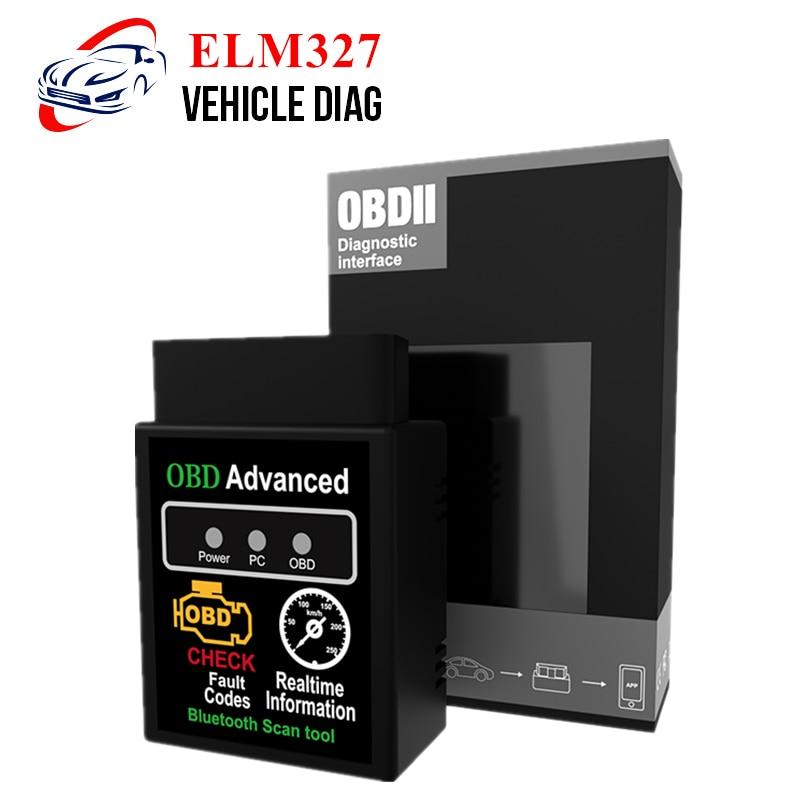 OBD2 Scanner ELM327 Bluetooth V2.1/V1.5 Automotive Scanner Code Reader 12V Car Diagnostic Tool ELM 327 WIFI For Android/IOS