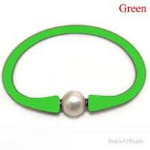 75 дюймов 10 11 мм один aa натуральный круглый жемчужный зеленый