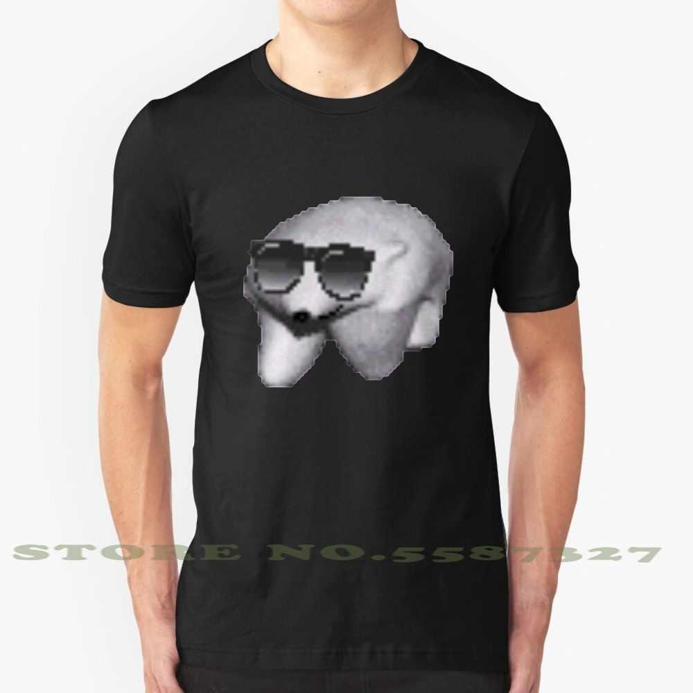 Sunglasses Polar Bear Black White Tshirt For Men Women Polar Bear Polarbear Bear Walking Gif Funny Autistic Autism Anime Meme T Shirts Aliexpress