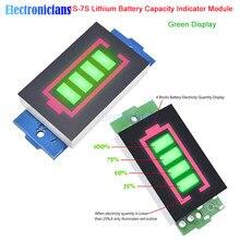 1 S/2 S/3 S/4S/5s/6 S/7 S серия литиевая батарея Емкость индикаторный модуль 4 уровня батарея для электромобиля Тестер питания Li-po Li-ion