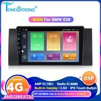 TOMOSTRONG Auto radio car GPS multimedia player for BMW E38 E39 E53 M5 BT WIFI DVR CARPLAY 2.5D screen Head unit