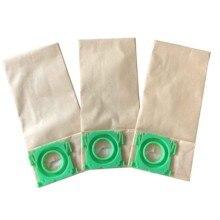 20 חבילה Cleanfairy 3 רובדי נייר אבק שקיות תואם עם בורק V701 V702 V705 290mm ארוך