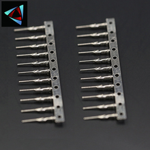 100Pcs/lot Male Pin Connector for Dupont Jumper Wire Cable 2.54mm Pitch