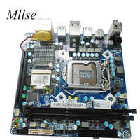 Free Shipping For DELL X51 R1 For ALIENWARE X51 R1 System Board H61 mini-itx htpc 17*17 LGA1155 6G6JW 06G6JW motherboard