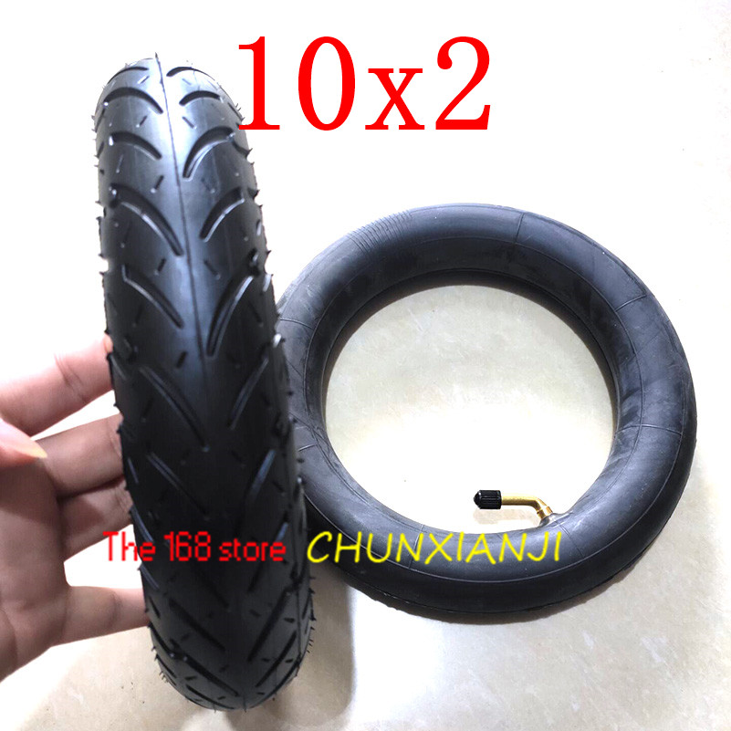 Size 10x2 Tube Tyre Bike  Heavy Duty 10 * 2 Tyre Inner Tube for Bike Tricycle Baby Stroller 3 Wheel Bicycle-in Tyres from Automobiles & Motorcycles