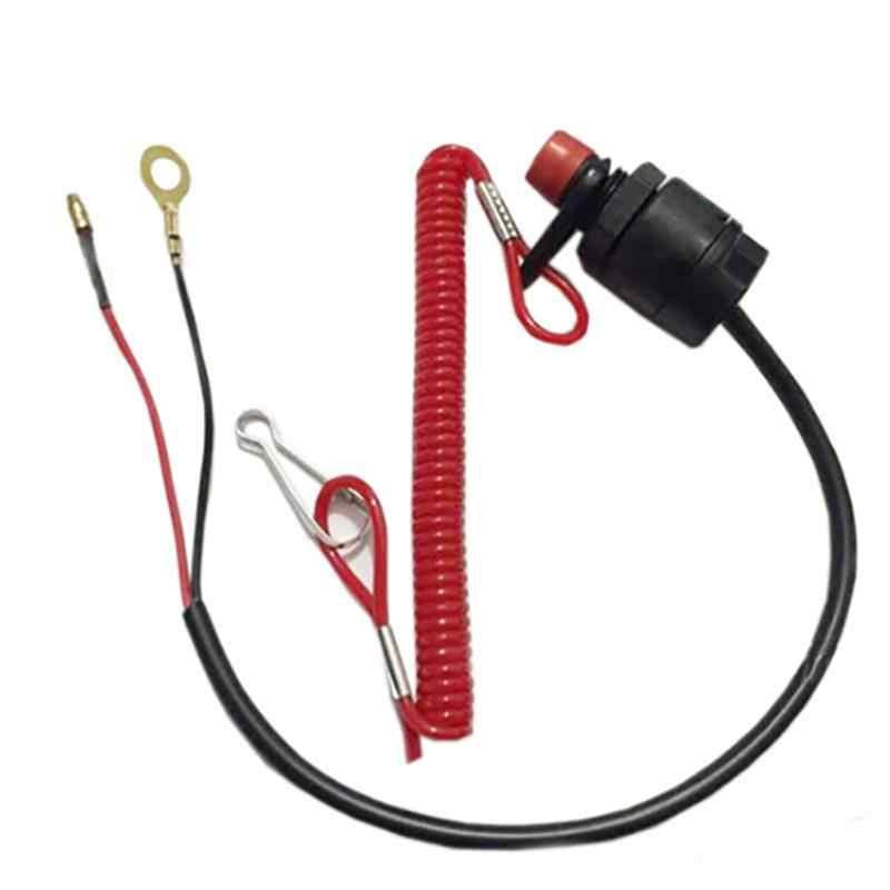 ボタン緊急遮断船プロストラップキルテザー停止スイッチ安全アクセサリー実用