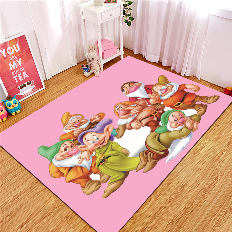 Pink Mat Cartoon Indoor Doormat Scrape Wear Resistant And Dust Proof Non Slip Door Mat Carpet For Kitchen Floor Bathroom