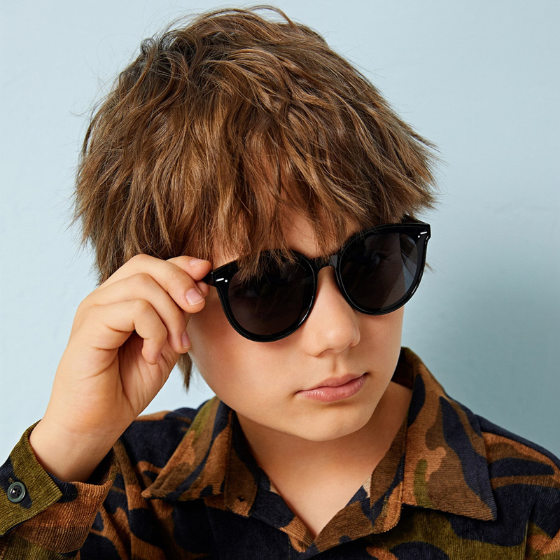 Новинка 2020, брендовые Детские солнцезащитные очки, милые детские солнцезащитные очки для девочек, детские очки, солнцезащитные очки для мал...