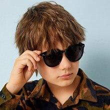 Marca 2020 nova crianças óculos de sol grils adorável bebê óculos de sol para meninos gafas de sol uv400