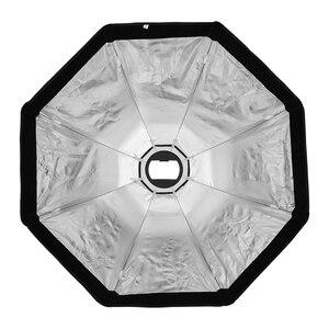 Image 3 - Triopo 55Cm 65Cm 90Cm 120Cm Speedlite Di Động Bát Giác Dù Softbox + Tổ Ong Lưới Ngoài Trời Flash Mềm Mại hộp Cho Canon Godox