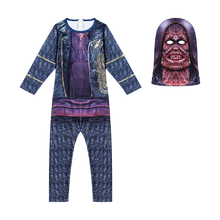 Halloween Scary Costumes Kids Boys Carnival Clothes With Mask Children Cosplay Clothing For 62956