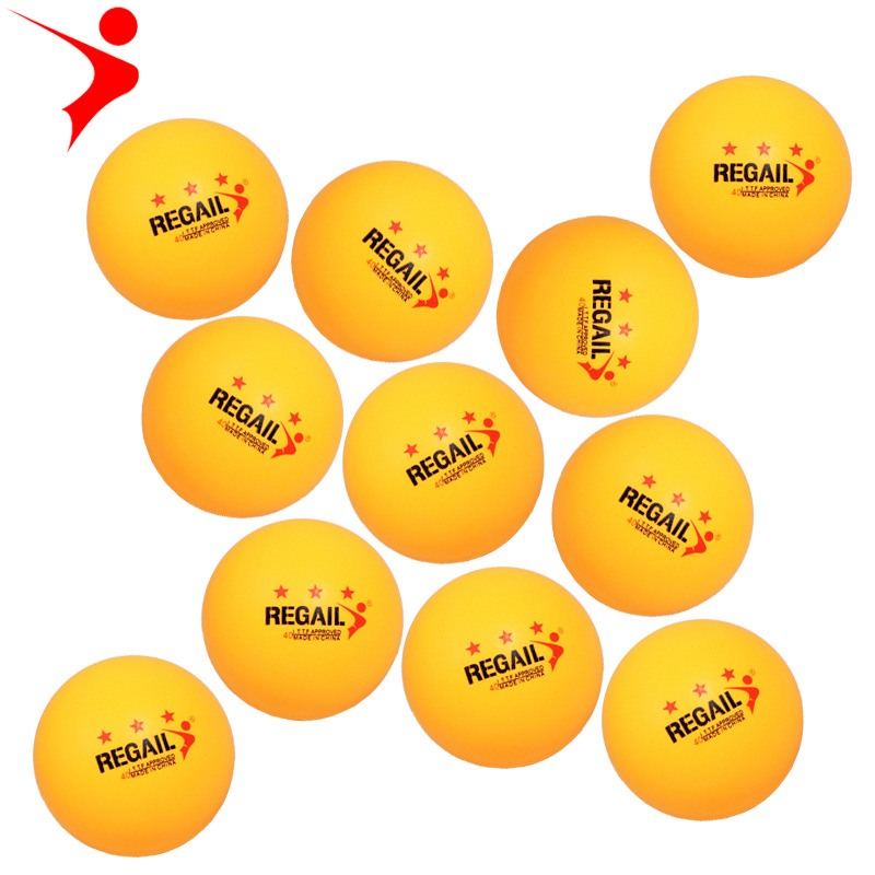 Regail Genuine Product Training Ping Pong 40 + New Material SAMSUNG Ping Pong Celluloid Ping Pong Venues Training