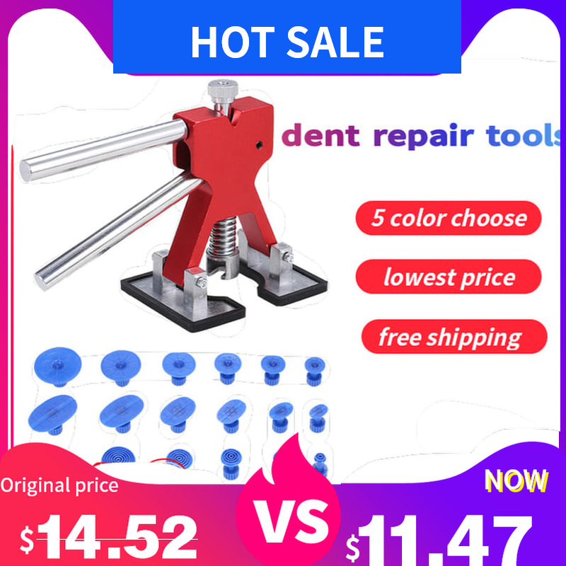 Paintless Removing Dent Car Body Repair Dent Puller Dents Remover Auto Body Suction Cup Repair Tools For Vehicle Car Auto