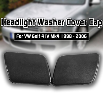Left/Right Side Front Bumper Headlight Washer Nozzle Cover Cap For VW Golf 4 IV Mk4 1998 1999 2000 2001 2002 2003 2004 2005 2006 image