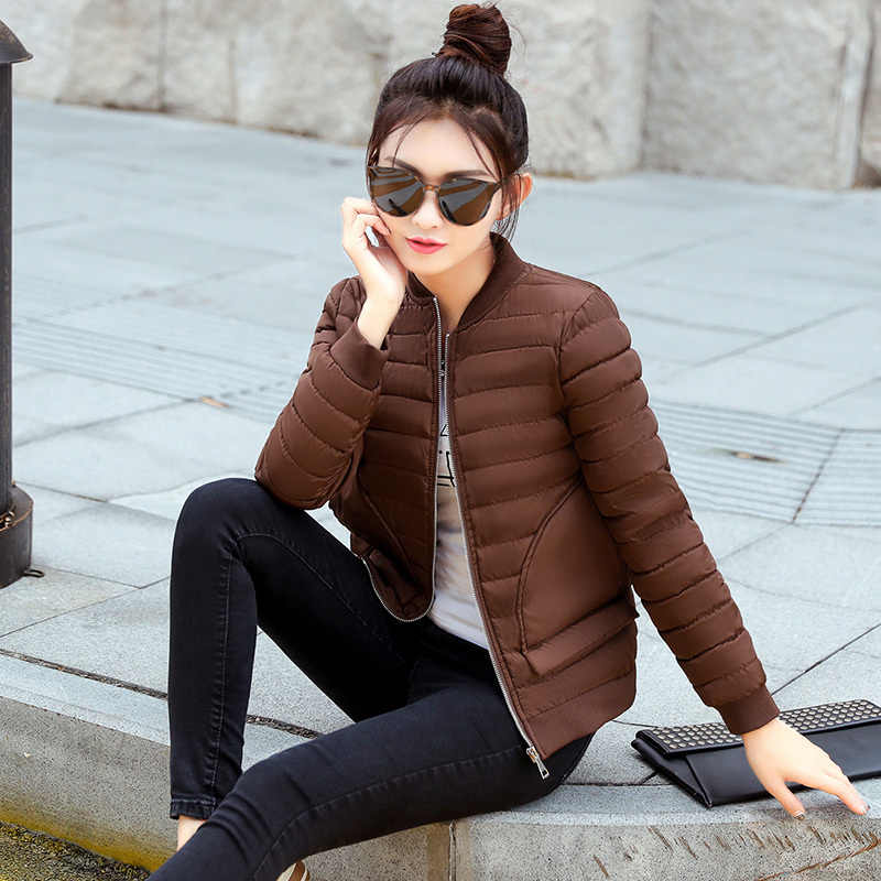 2020 Winter Mantel Frauen Padded Fashion Baseball Kleidung Wadded Weibliche Jacke Parka frauen Jacken Campera Mujer KJ419