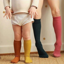 Socks Cotton Children Newborn Infant Baby-Boys-Girls Kids School Cute Knee Soft Breathable