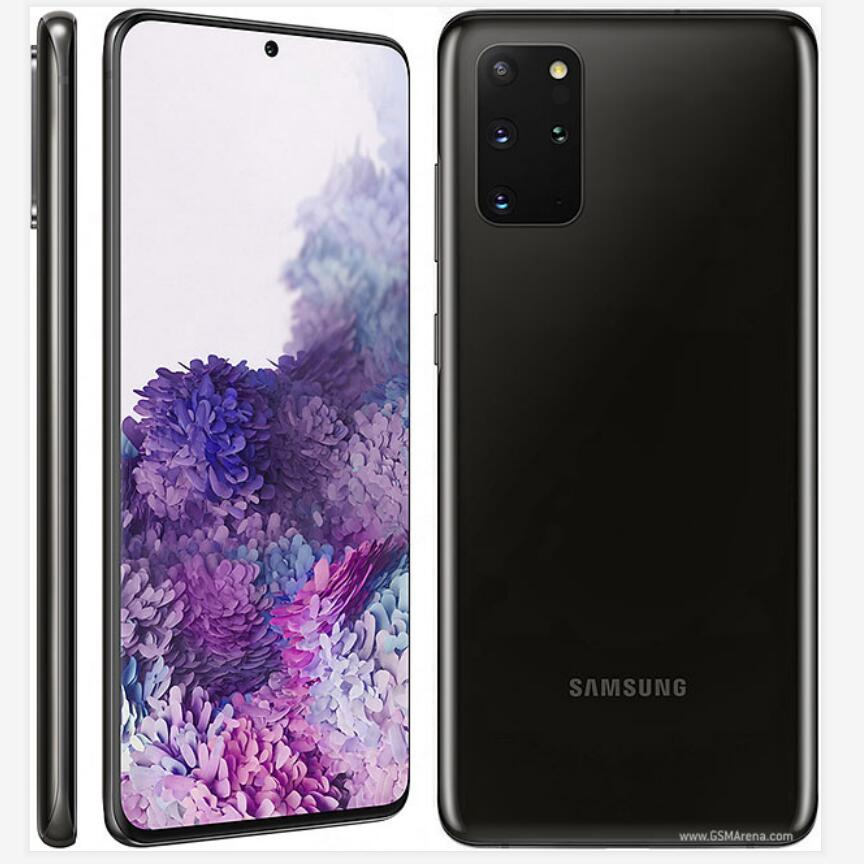 Novo samsung galaxy s20 plus s20 + G985F-DS 4g telefone móvel 8 gb ram 128 gb rom octacore 6.7