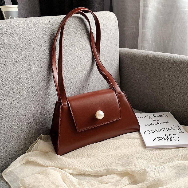 DIINOVIVO Pearl Designer Handbags Women Elegant Underarm Bag Female Shoulder Bag Casual Ladise Hand Bag Purse Clutch WHDV1366