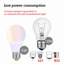 E27 B22 RGBW LED Bulb Lights 4W 7W 10W 15W 110V 220V Lampada Changeable Colorful RGB LED Lamp With IR Remote Control