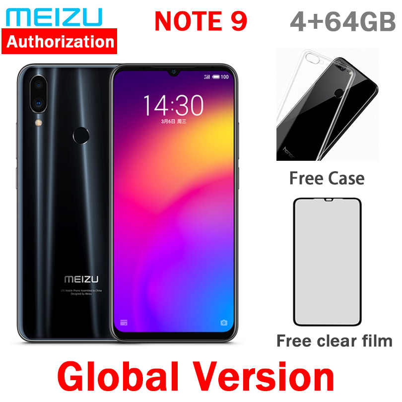 Instock Meizu Note 9 48.0mp Camera 4GB RAM 64GB ROM 4G LTE Snapdragon 675 Octa Core 6.2