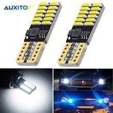 2x T10 W5W LED Canbus samochodowe światła obrysowe dla VW Golf 4 5 6 Passat B5 B6 Audi A3 A4 A6 Ford Focus 2 3 1 mk2 Fiesta BMW E46 E36