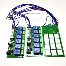 12 channel capacitive touch button module with relay board 12V power supply Self locking point function