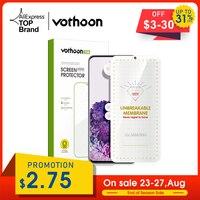 Vothoon HD Screen Protector Für Samsung Galaxy S21 Ultra S20 S10 S8 S9 Plus Hinweis 8 9 10 20 Plus vollständige Abdeckung Schutzhülle Film