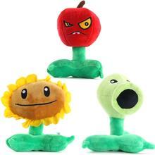 3 Pz/set Plants Vs Zombies Figura Cerbottana Girasole Cherry Bomb Peluche Animali di Peluche Doll Giocattoli Per Bambini 16 18 CENTIMETRI alta