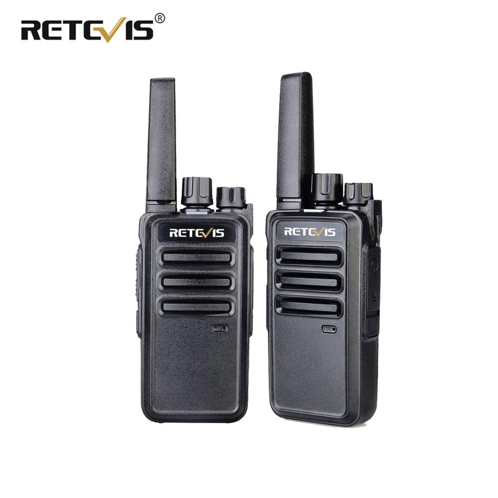 Retevis RT668/RT68 Walkie Talkie 2pcs PMR PMR446 Walkie-Talkie FRS License-free Two-Way Radio UHF VOX Portable Radio Station
