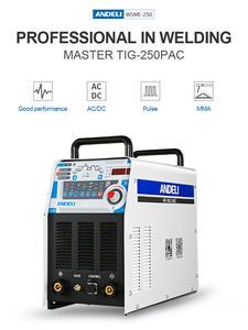 TIG-250PAC Converter Digital Block Golf Ac Dc Pulse Tig Lasser Tig Aluminium with aluminium Tig Lassen Machine