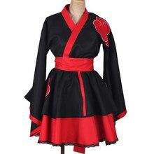 Trajes de Naruto Cosplay traje de Anime Naruto para hombre Show trajes de dibujos animados japoneses Naruto abrigo Top dress
