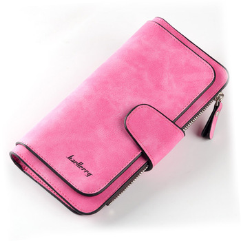 Women Wallets Name Engrave Fashion Long Leather Top Quality Card Holder Classic Female Purse  Zipper  Wallet For Women 11
