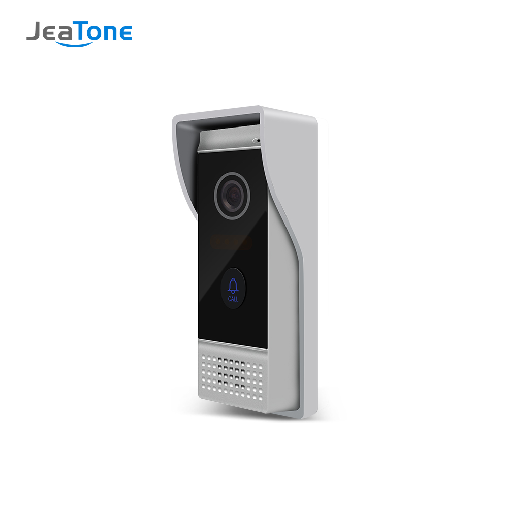 JEATONE проводной видеодомофон 720P наружная камера Водонепроницаемый дверной звонок с широким обзором