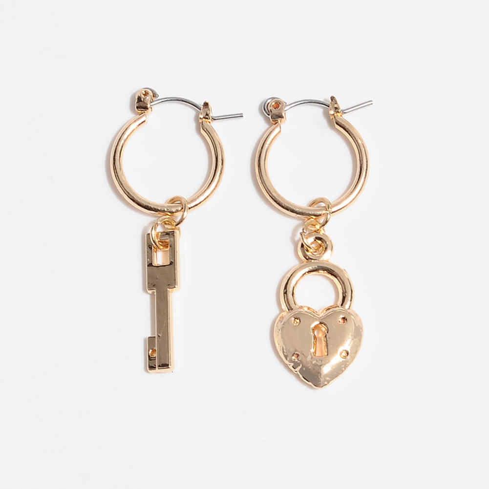 ขนาดเล็กต่างหูผีเสื้อ Hoop ต่างหูทอง hoops ต่างหูวงกลมขนาดใหญ่ต่างหูของขวัญผู้หญิง