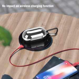 Image 3 - Electroplated TPU Bluetooth Earphone Bud Case For Samsung Galaxy Bud Hooked Earbuds Box Protector with Charging Hole Port