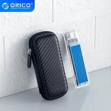 ORICO M.2 disque dur EVA Portable HDD sac de Protection de stockage pour disque dur externe M.2/écouteurs/ligne de données HDD étui