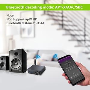 Image 3 - Prozor 192kHz Bluetooth DAC ממיר עם מגבר אוזניות 3.5mm אודיו מתאם עבור APT X AAC SBC דיגיטלי לאנלוגי ממיר