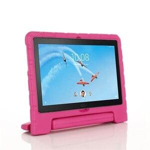 Image 4 - עבור Lenovo Tab P10 מקרה כף יד מלא גוף ילדי ילדים EVA ידית סטנד tablet כיסוי עבור lenovo tab m10 10.1 אינץ