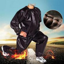 Sports Sweating Sauna Clothes Shaper Shirt Heavy Duty Suit Fitness Black Weight Loss Fitness Workout Sport Anti-rip Exe U0Q3