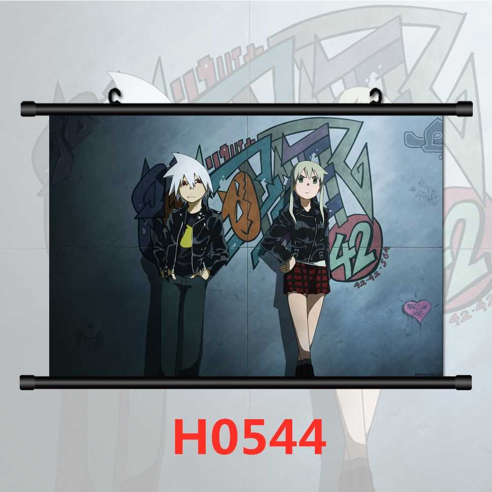 Soul Eater Maka Albarn HD Canvas Print Wall Poster Scroll Room Decor