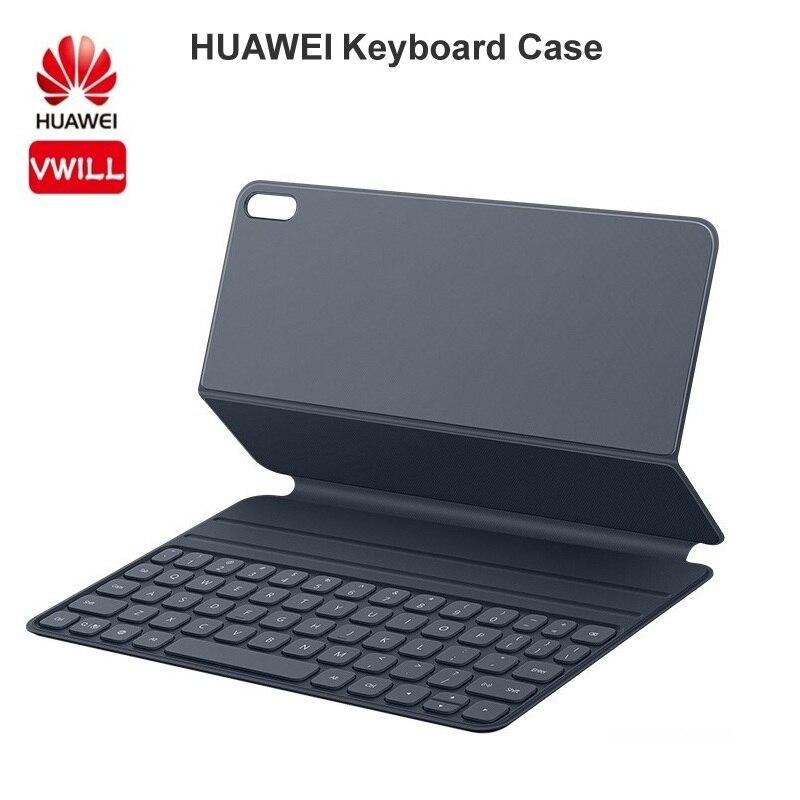 Robuste Support Rotatif /à 360 avec Dragonne YGoal /Étui pour Huawei Matepad Pro Bandouli/ère e Kickstand Cover Coque pour Huawei Matepad Pro 10.8 Pouce Noir