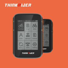Lcd-Display Cycling Computer Thinkrider Gps Powermeter-Support Stopwatch Bluetooth Smart