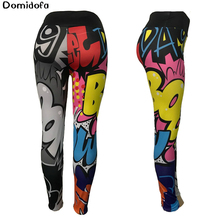 Cartoon pattern 3D printing yoga leggings for ladies exercise fitness running breathable slimming butt lifting Polyester pant breathable chevron pattern yoga leggings