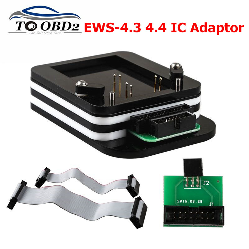 High Quality IC Adaptor EWS-4.3 & 4.4 For BMW (No Need Bonding Wire) For X-PROG/AK90/R270/ R280 Plus Programmer EWS4 Adaptor