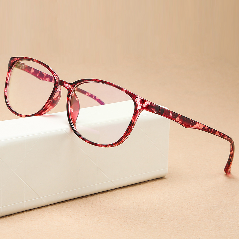 KOTTDO Fashion Computer EyeGlasses Frame Men Flat Light Face Students Women's Glasses Frame Retro Prescription Eyeglasses Frame